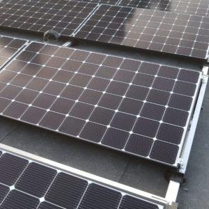 PV-panelen door Albreco geplaatst in combinatie met een bodemwarmtepomp