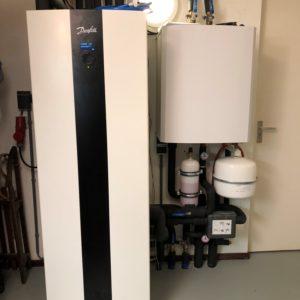 bodemwarmtepomp in werking