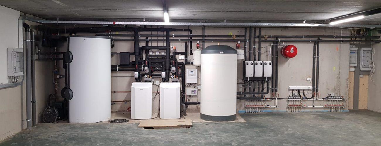 Warmtepomp installatie geplaatst door Albreco