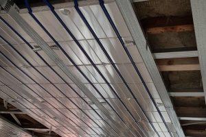 Plafondverwarming uitgevoerd door Albreco